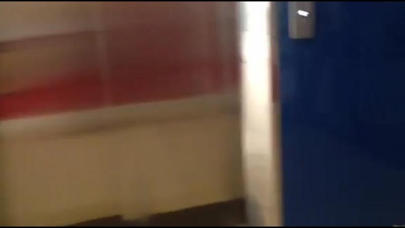 Vinschool elevator with Bukit Panjang LRT C801A doors closing chime