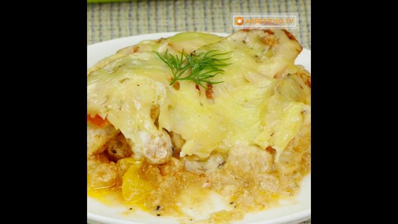 Zerofat овощи с куриной грудкой