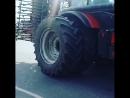 Трактор Беларус - монстры на дорогах Белоруссии