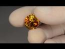 Faceted gem sphalerite - 17.25 ct