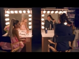 Ariana Grande and Jimmy get ready for tonights show