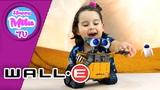 Wall-E From Wall-E Cartoon Interaction Thinking Toy Disney Pixar funny review HappyMilaTV #140