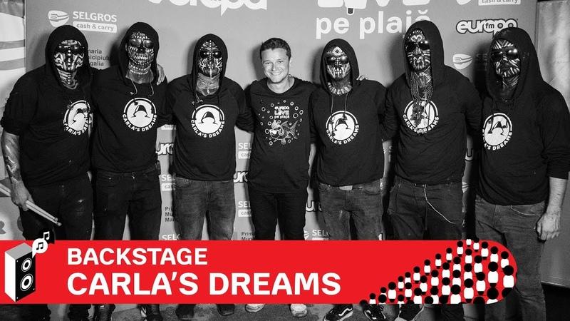 Carlas Dreams A fost o perioada de reinventare - Backstage Europa FM LIVE pe Plaja 2018