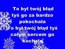 To był Twój błąd Karaoke Alexmar - Waldemar Kocoń (cover by Aleksandra Pławińska)