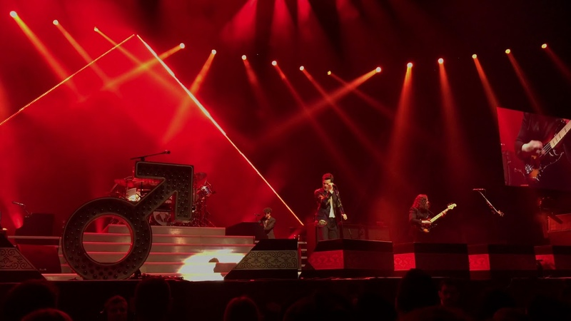 The Killers - Dont Change (INXS Cover) Live Perth Arena 2018