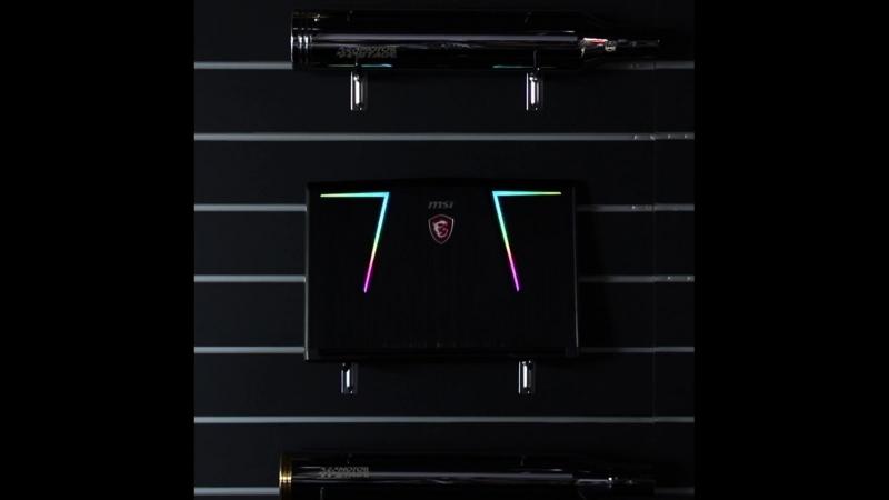 Всі ігрові ноутбуки схожі між собою, але Mystic Light допомагає вам виділитись із натовпу