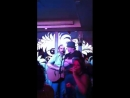 Brendan Fraser on stage Lilys Belfast