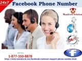 Keep hackers away from FB via Facebook Phone Number 1-877-350-8878