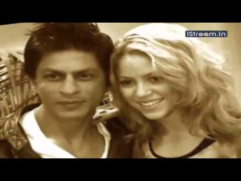 Shah Rukh, Shakira dance for KKR music video