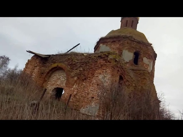 Экскурсия по мистическим местам Тульской области, Храм окутанный тайной, церковь в селе Голощапово