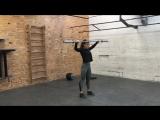 Рывковая тренировка Edda Falak - 20112017