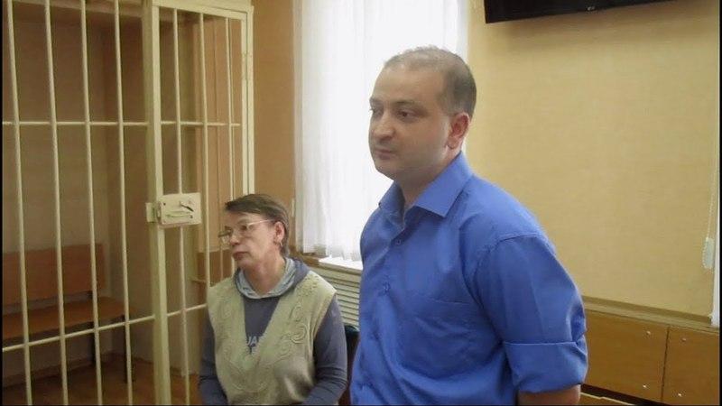 Профсоюз Белозерской ЦРБ отстаивает права в суде.mp4. г.Белозерск 10.05.2018г.