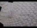 Vestido Largo Crochet para Niña 6 Meses y Más parte 1 de 2