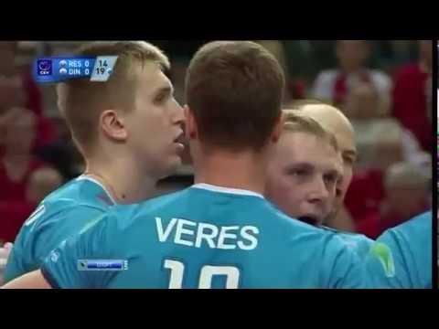 Волейбол Муж Кубок ЕКВ 2012 Динамо Ресовия 2 й матч 01 04