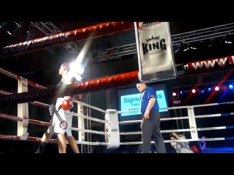 Jorina baars vs anissa haddaoui nl titel 66.68kg