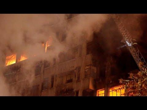 Βραζιλία: Κατέρρευσε ουρανοξύστης στο Σάο Πάολο