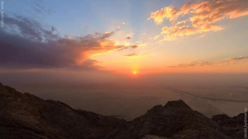 Путешествие по ОАЭ. Дубай Dubai - timelapse