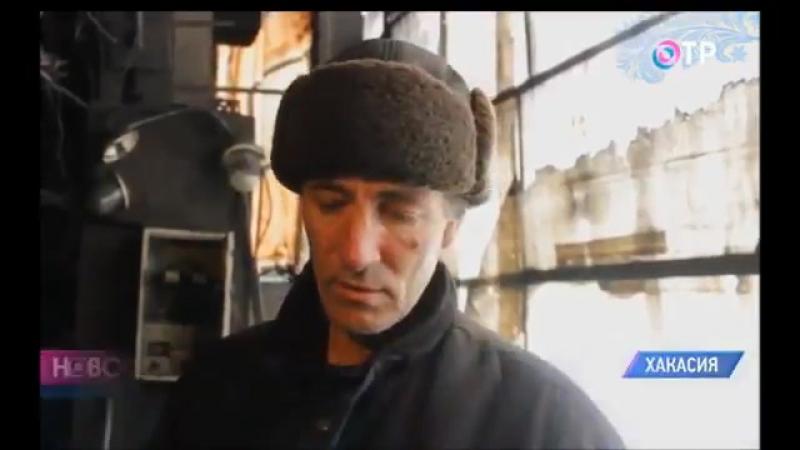 В хакасском селе Бородино второй раз за месяц жители ремонтируют котельную за свой счет