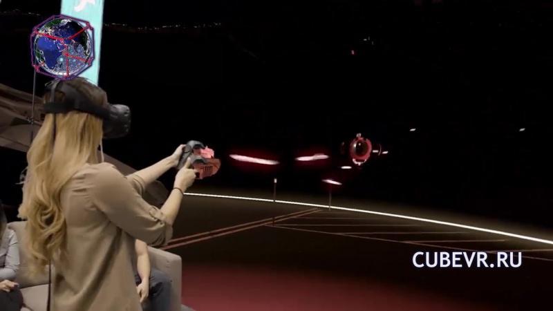 Демонстрация возможностей аттракциона виртуальной реальности