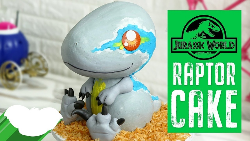 Jurassic World RAPTOR CAKE | Fallen Kingdom Cake | Koalipops How To