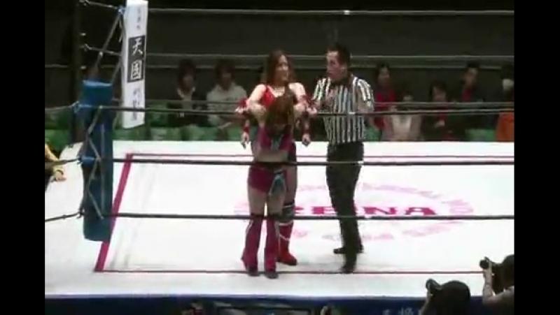 3 Alex Lee Keizo Matsuda vs Koharu Hinata Yuji Kito REINA 12 24 14