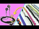 9 Formas de usar cables de auriculares/audífonos (Reciclaje) Ecobrisa