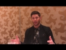 Supernatural Season 14 Jensen Ackles Interview Comic Con mp4