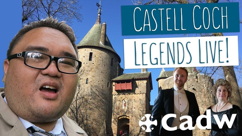 LEGENDS LIVE! Jonas goes back in time at Castell Coch!