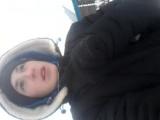 Я со своим лучшим другом!!! Как сказать ийдём кататься на лыжах!!!!!