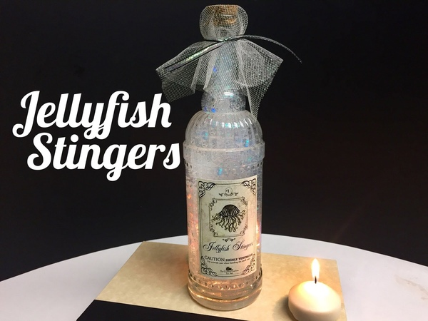 Jellyfish Stingers Potion DIY Potion Bottle Halloween Prop Harry Potter Inspired