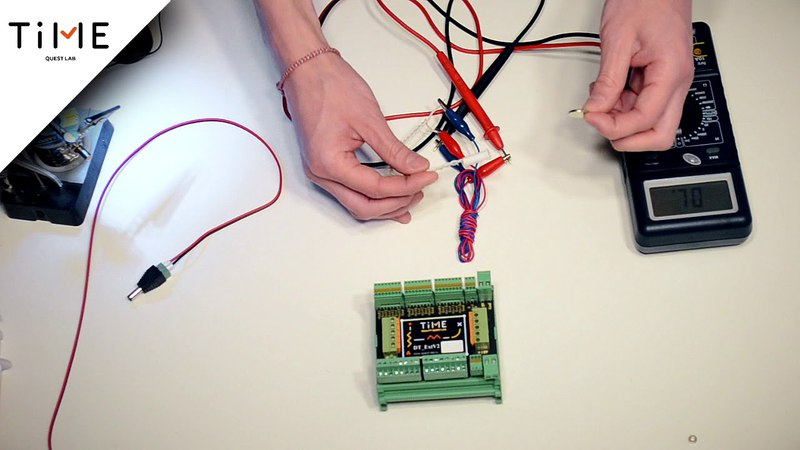 Электроника для квеста. Мультиметр