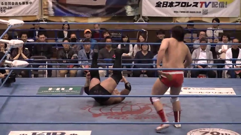 The Bodyguard vs. Naoya Nomura (AJPW - Champion Carnival 2018 - Day 5)