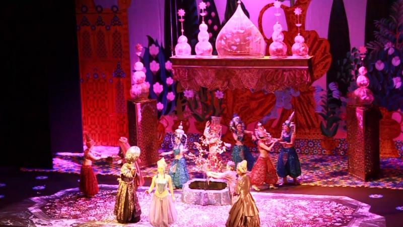 Театриум на Серпуховской. Алладин