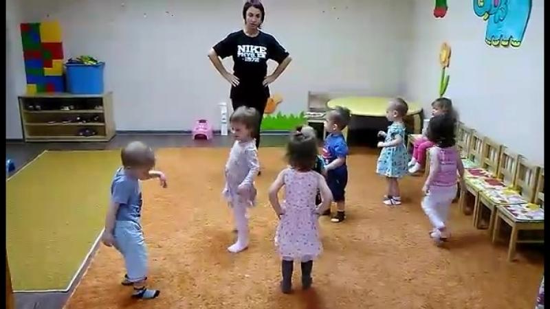 Малышарики на хореографии
