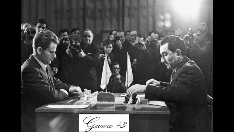 Spassky Boris - Petrosian Tigran V, Moscow, Game 3, 1969