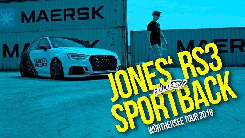 HOW DEEP JONES' RS3 SPORTBACK WÖRTHERSEE TOUR 2018