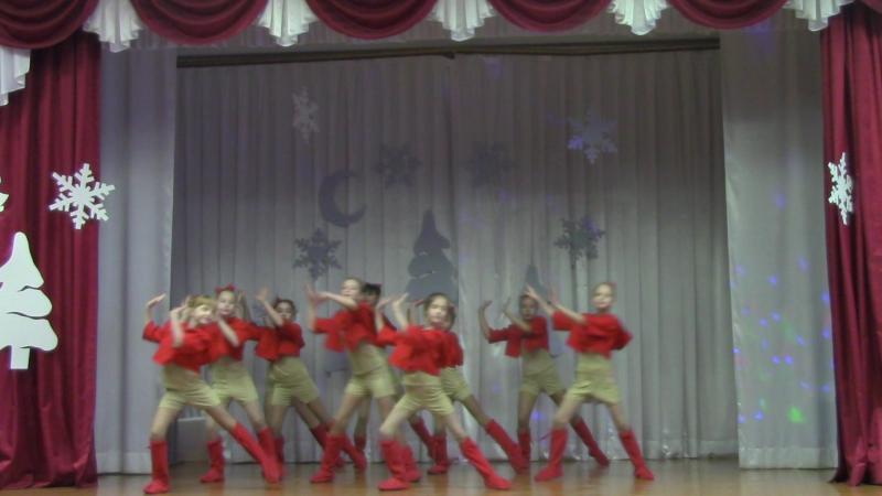 Зимняя прогулка танцевальный коллектив