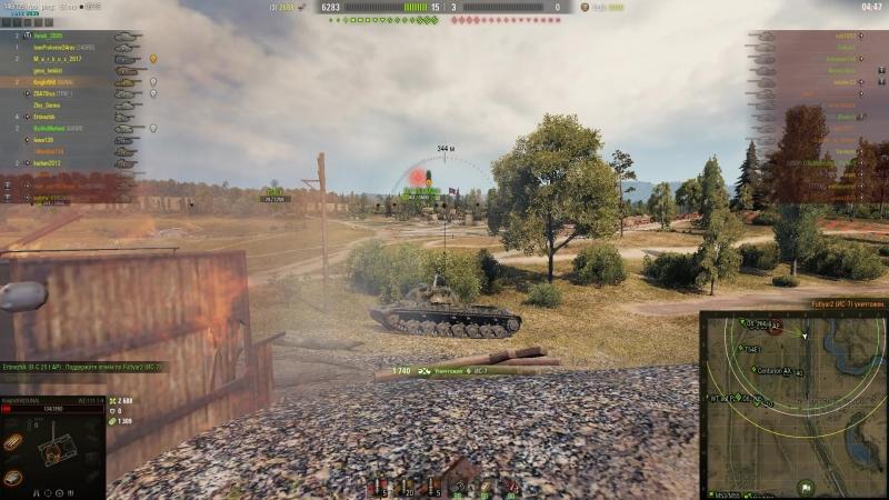 World of Tanks бк ис7