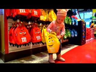 Funny Baby and Kids Shopping in New York Toys and Nursery Rhymes Songs for kids