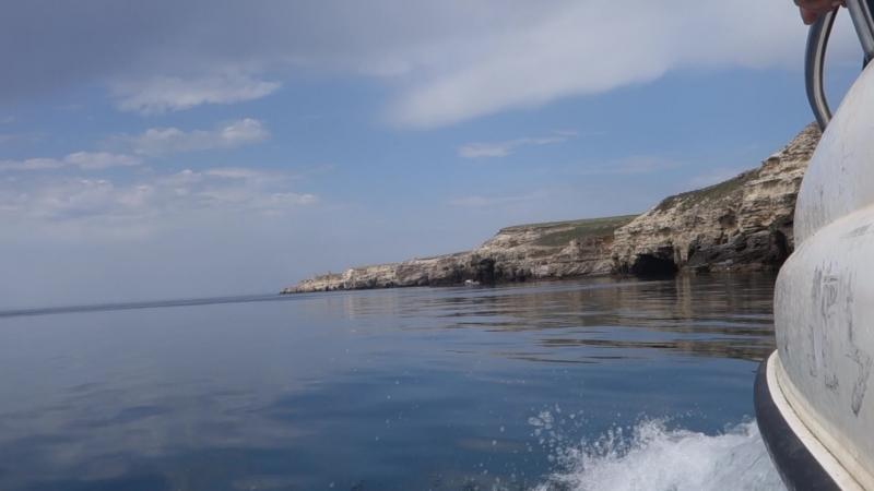 Прогулка на катере вдоль побережья Большого и Малого Атлеша. ТАРХАНКУТ!