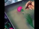 Картина на поверхности воды!