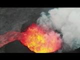 Извержение вулкана Килауэа под гавайскую музыку, июль 2018.