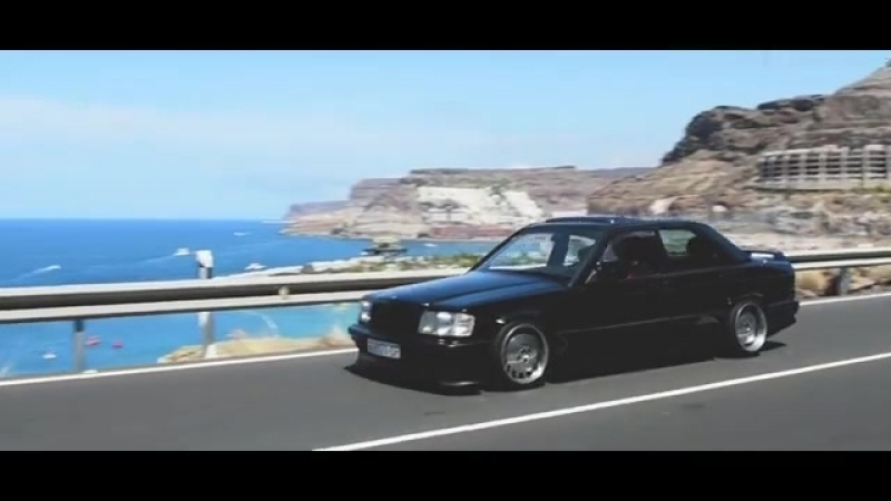 Mercedes W201 190E Cosworth wheels on bbs
