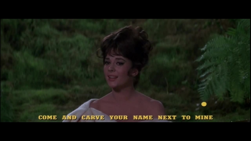 Natalie Wood A Tree In the Forest The Great Race