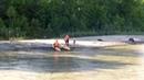 Спасатели эвакуировали с острова на реке Катунь юных робинзонов