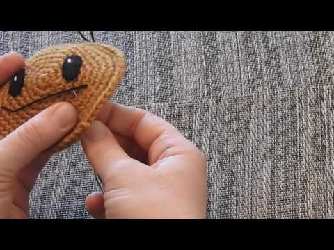 Basic Embroidery Sewing on an Amigurumi Mouth