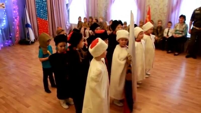 Утренник к 23 февраля. Детский сад №17 Фрунзенского района СПб