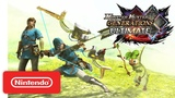 Monster Hunter Generations Ultimate x The Legend of Zelda трейлер коллаборации - Nintendo Switch