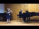 Veronika Gremyachikh (10 лет). Mazurka in G Major, Op. 19, - Obertas Г. Венявский