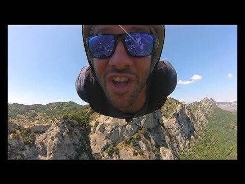 Rudolf Adventures: volo dell'angelo sulle montagne della Basilicata